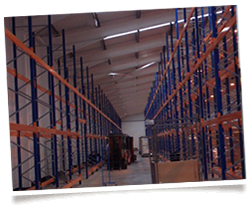 Secure warehousing space, racked and bulk storage, based in Northern Ireland